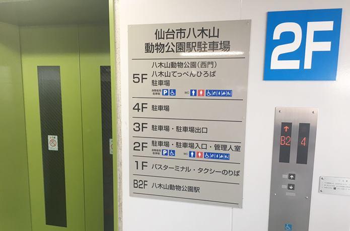 八木山てっぺん広場 案内版