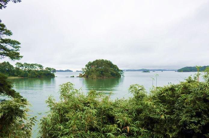 福浦島 弁天堂からの景色