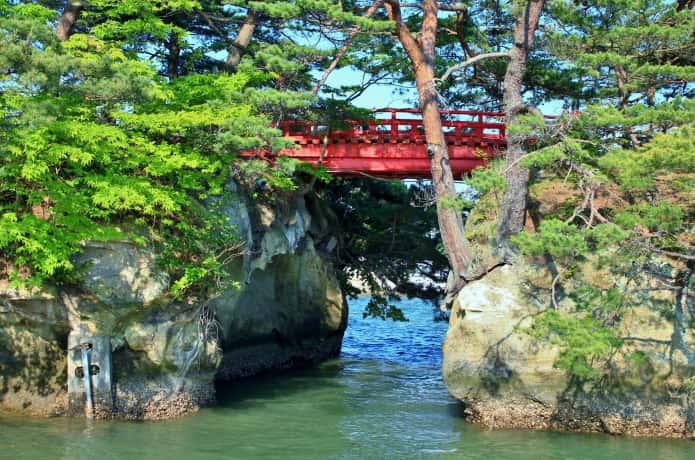 松島 透かし橋