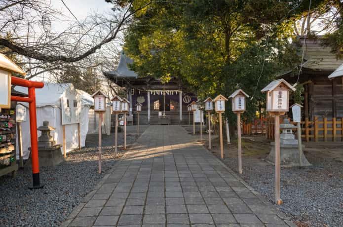 登米市 津島神社