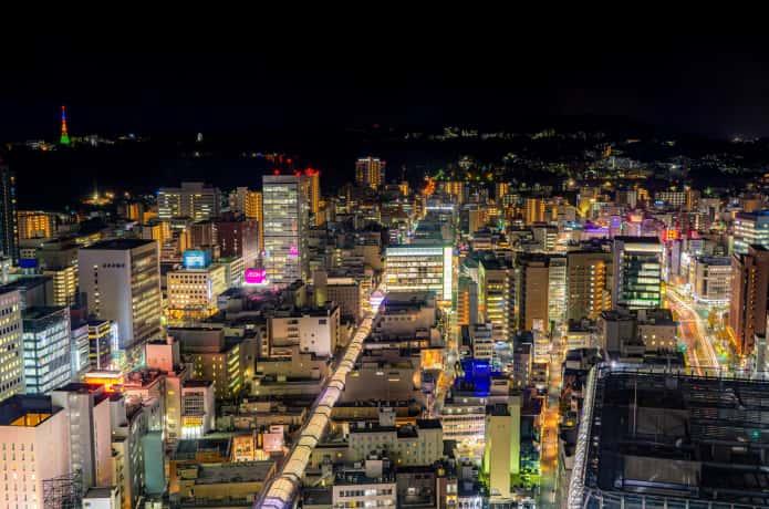 仙台 AERからの夜景