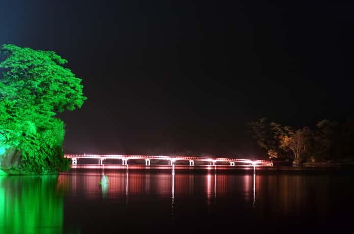 福浦橋 ライトアップ