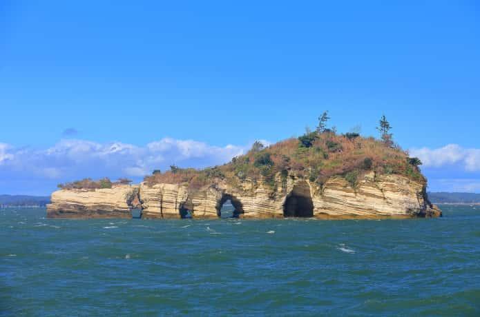 松島湾 鍋島