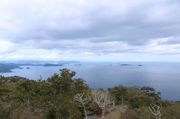 金華山山頂からの風景