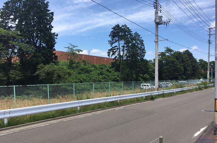 道路と宮城刑務所