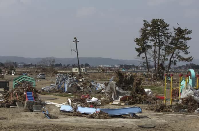 東日本大震災 名取市