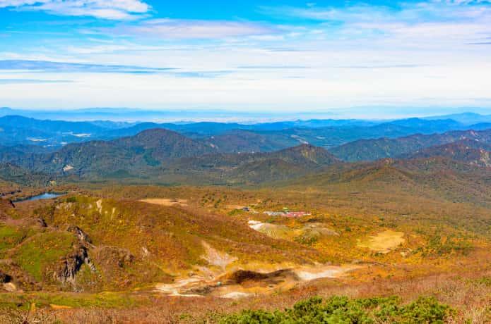 栗駒山の全貌