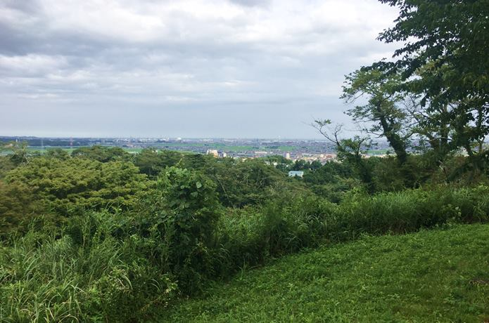 岩切城からの眺望