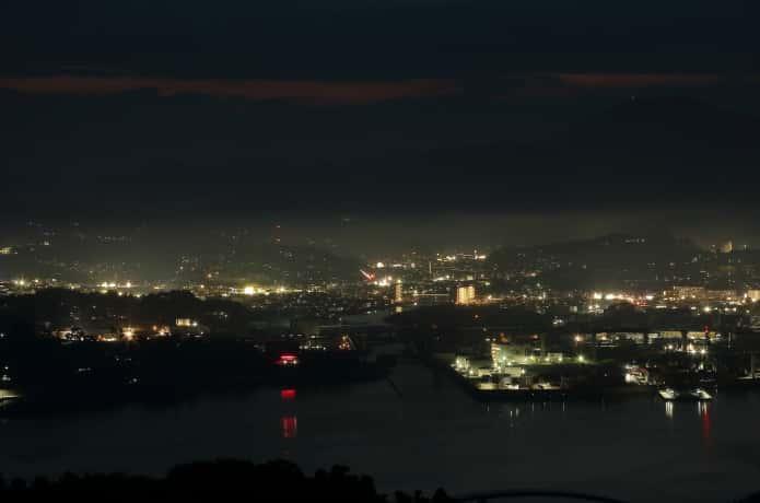 気仙沼大島の亀山からみる景色