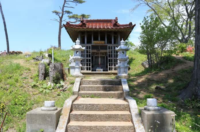 気仙沼大島 亀山 愛宕神社