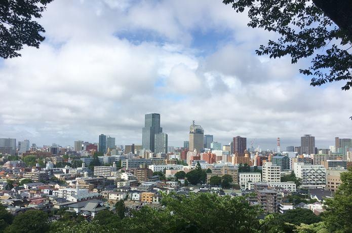大満寺 からみる仙台市
