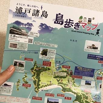 浦戸諸島 マップ