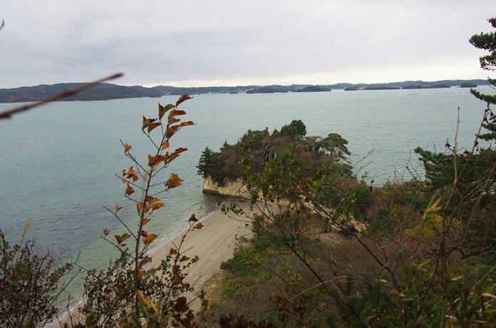 桂島 二度森展望台からの景色