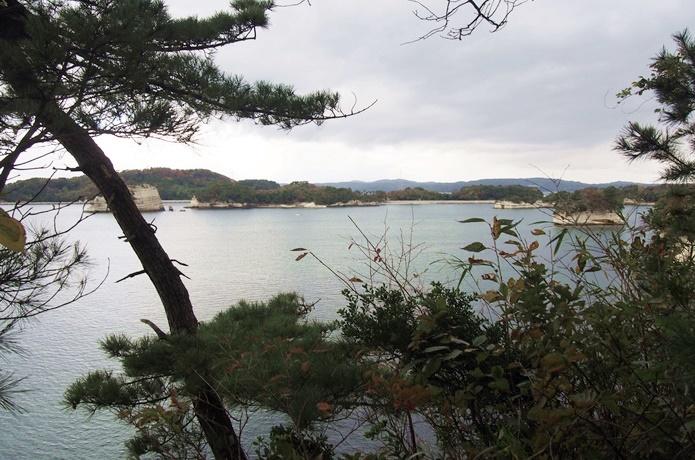 寒風沢島 砲台跡からみる景色