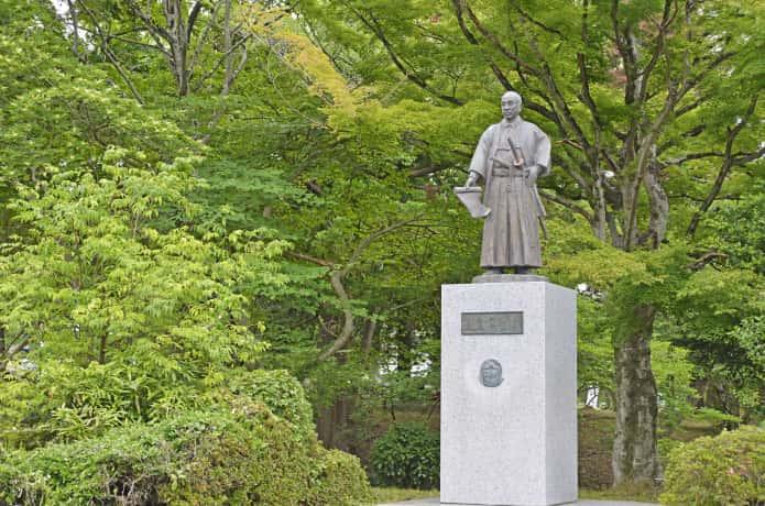 仙台城 二の丸跡